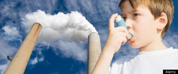 Aumento mundial da Incidência de Asma pela Poluição do Ar